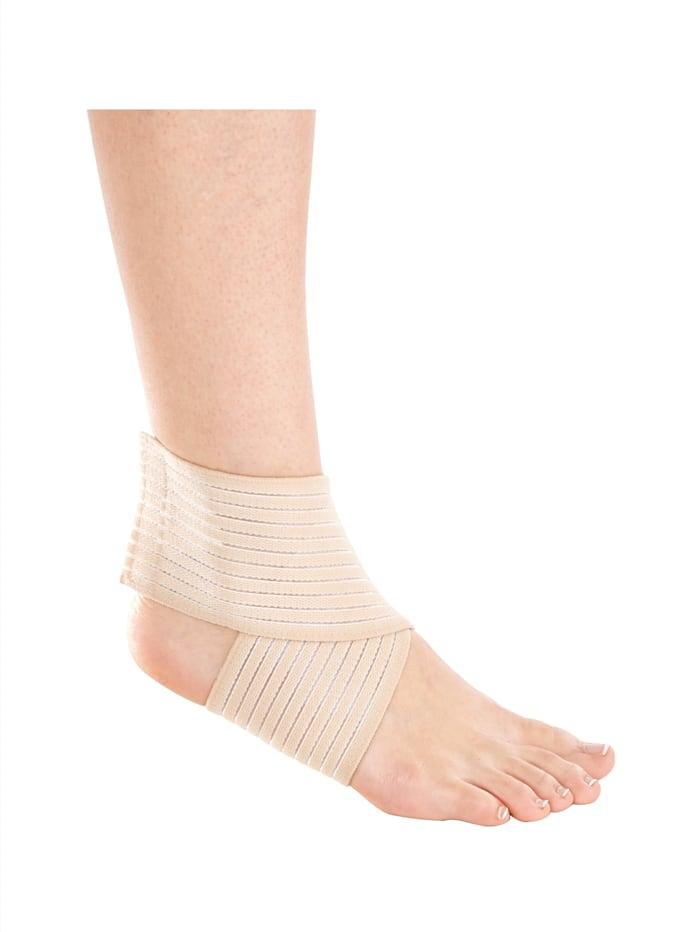 Hydas Bandage croisé pour cheville en lot de 2, Chair