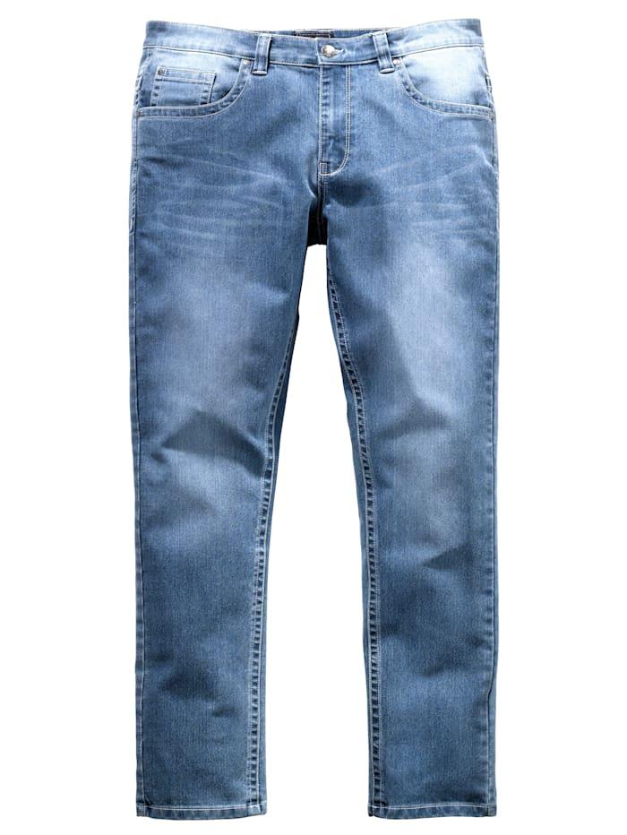 Men Plus Jeans Slim Fit, Blau