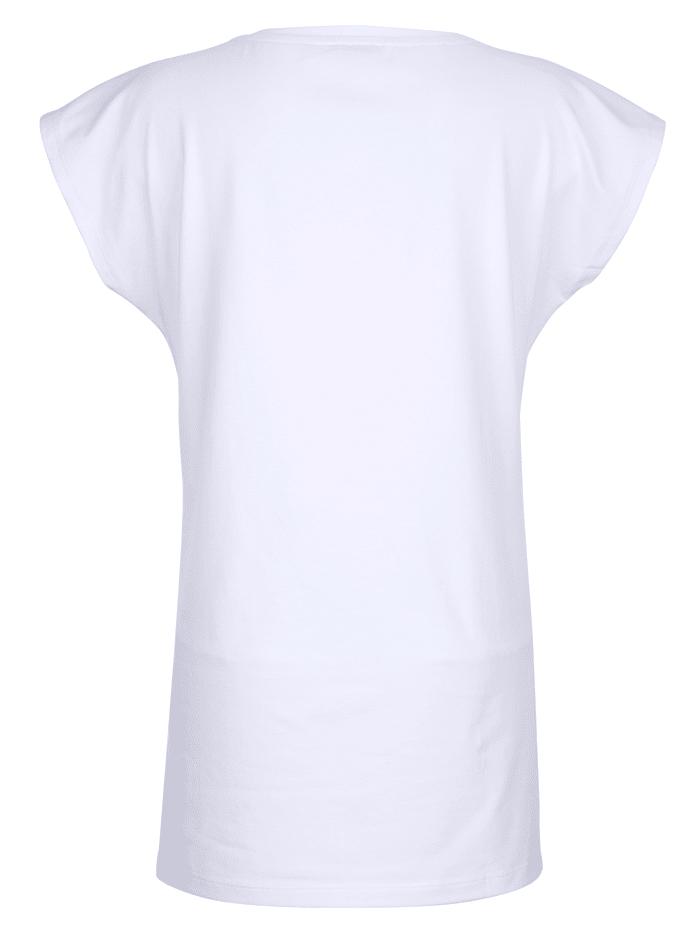 Strandshirt mit dekorativem Schriftdruck