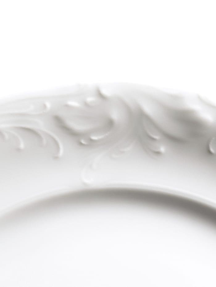 Kristoff 18-delig koffieservies, effen wit