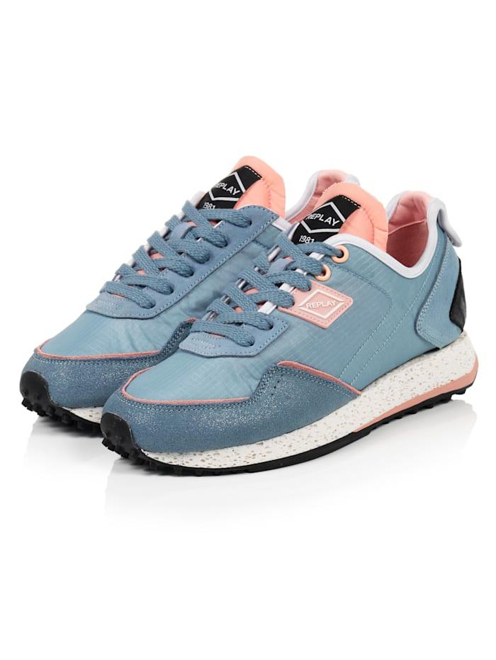 REPLAY Sneaker, Blau