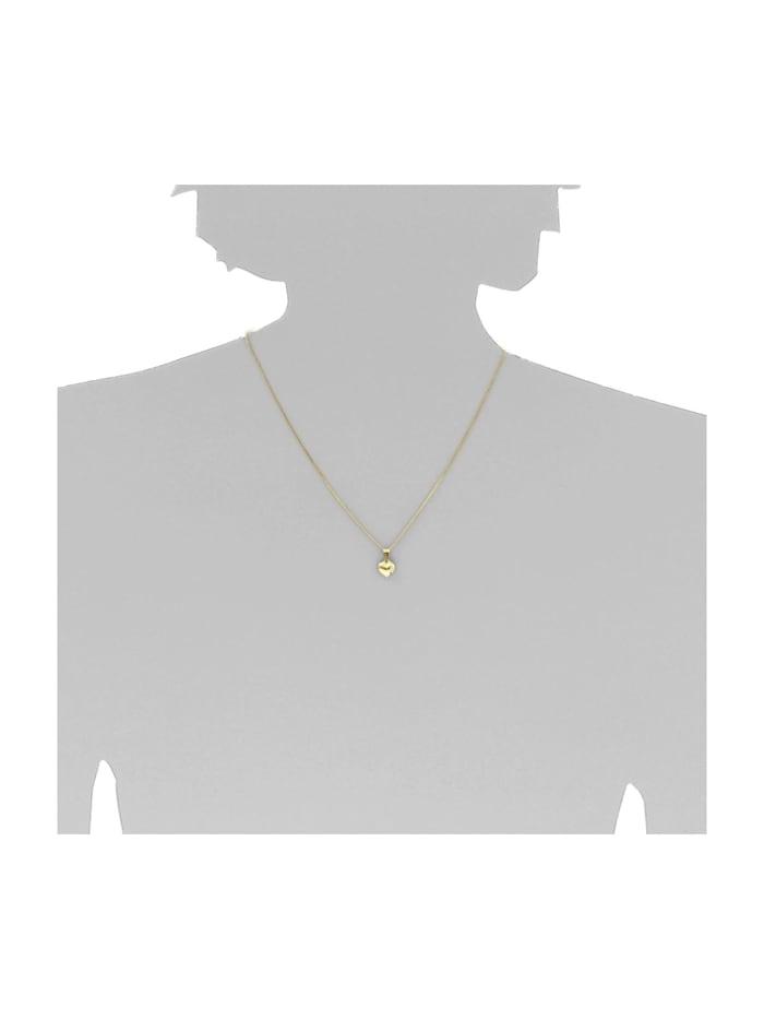 Kette mit Anhänger - Herz - Gold 333/000 - ,