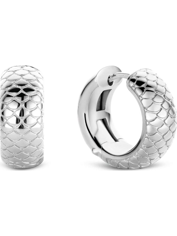 Ti Sento - Milano Damen-Creolen 925er Silber