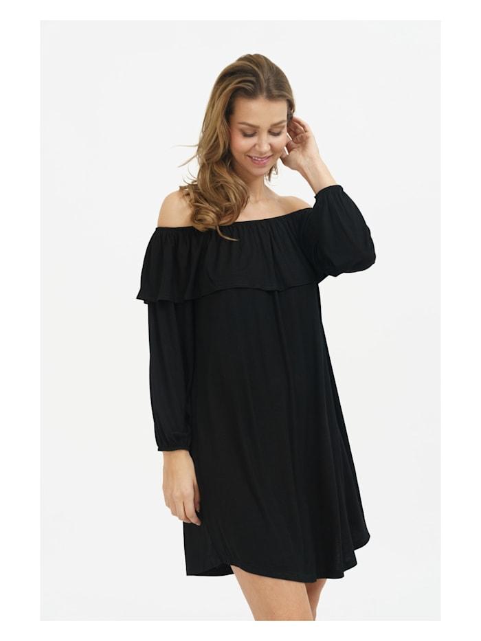 Kleid Haper mit anziehendem Carmen-Ausschnitt