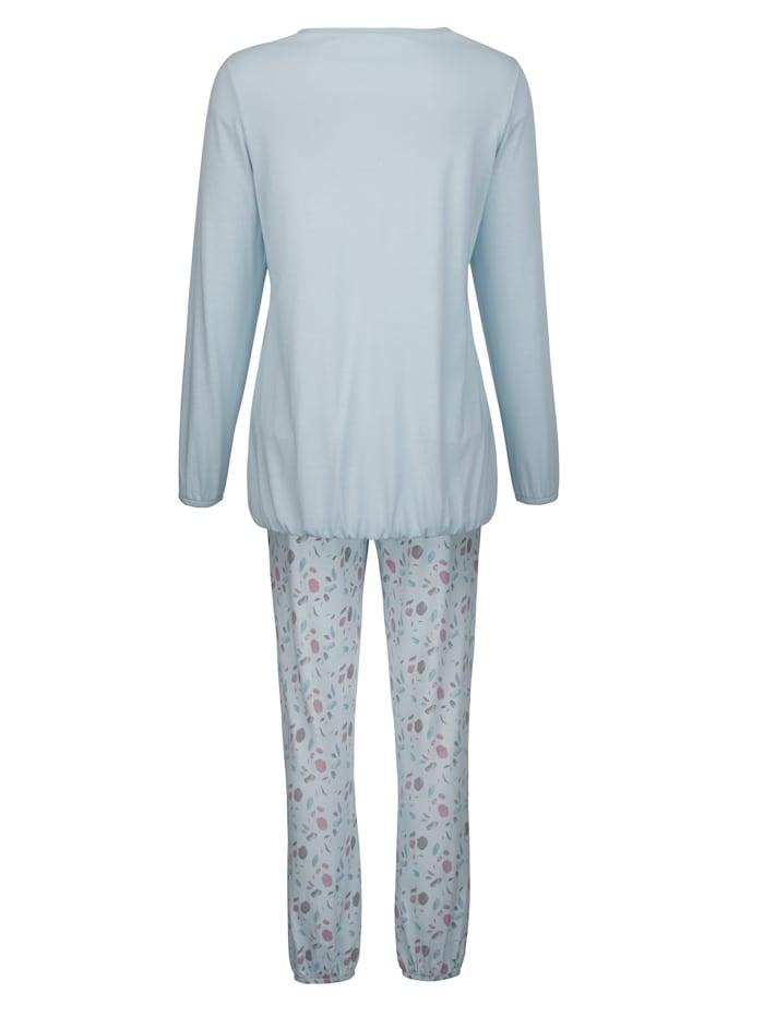 Schlafanzug mit süßer Brusttasche