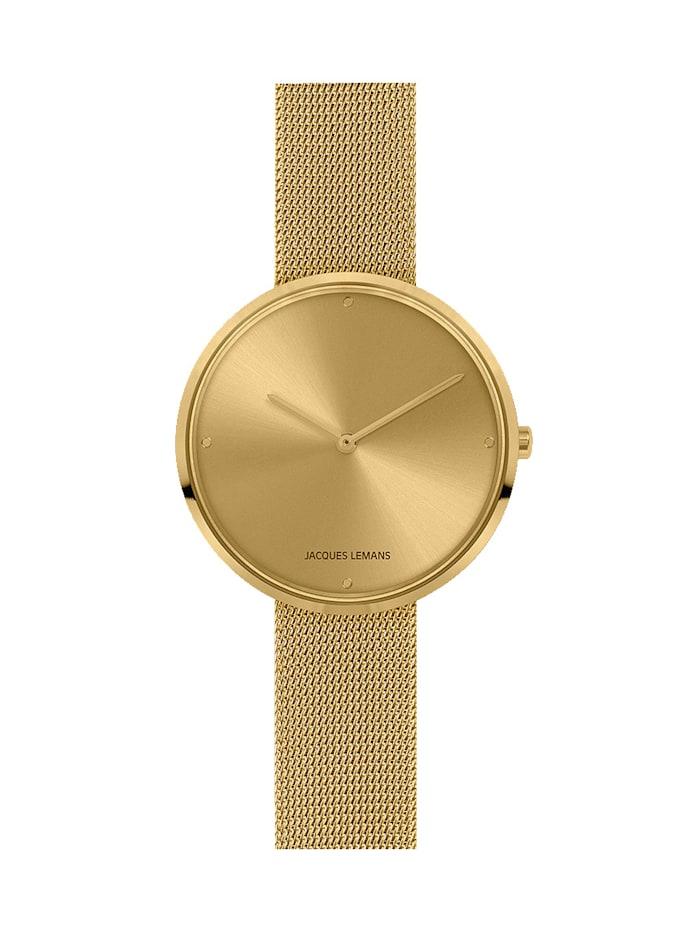 Jacques Lemans Armbanduhren, Gelbgoldfarben