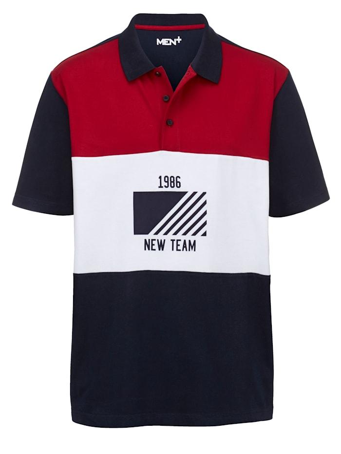Poloshirt im Colorblocking-Design