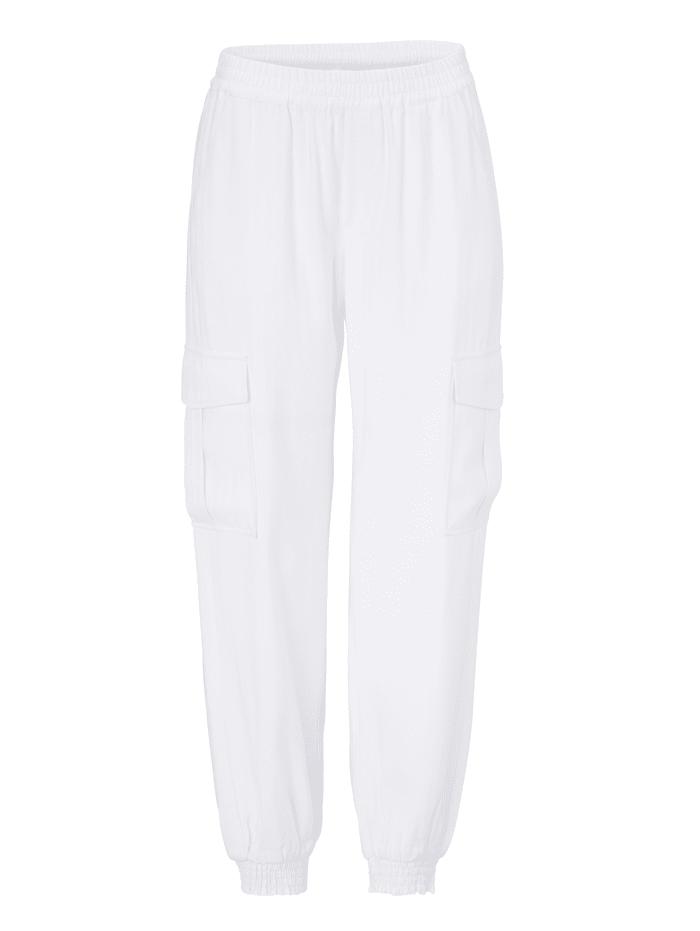 REKEN MAAR Hose, Creme-Weiß