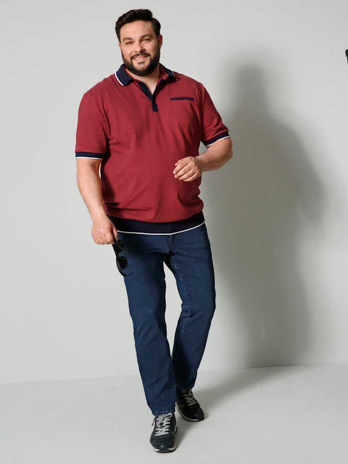 Poloshirt in speciale pasvorm