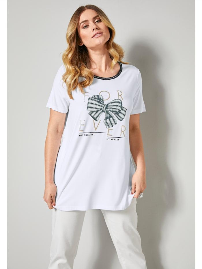 Shirt mit Schleifenprint