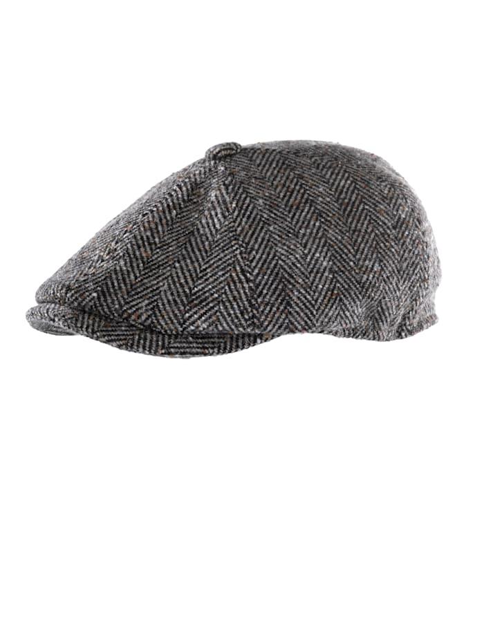 Faustmann Tweedkeps med varmt foder, grå