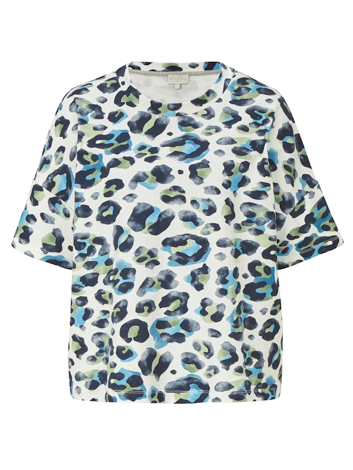 Milano Italy Sweatshirt, Blau