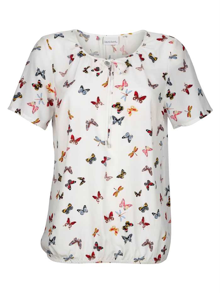 Tunic Summery butterfly print