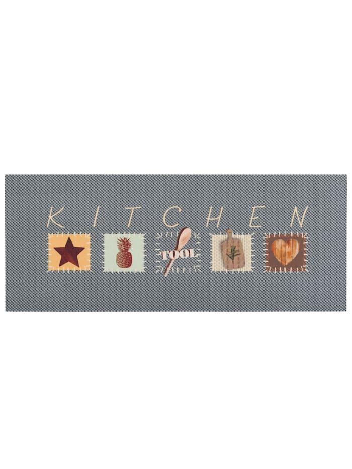 Pergamon Küchenläufer Teppich Trendy Kitchen Tool, Grau