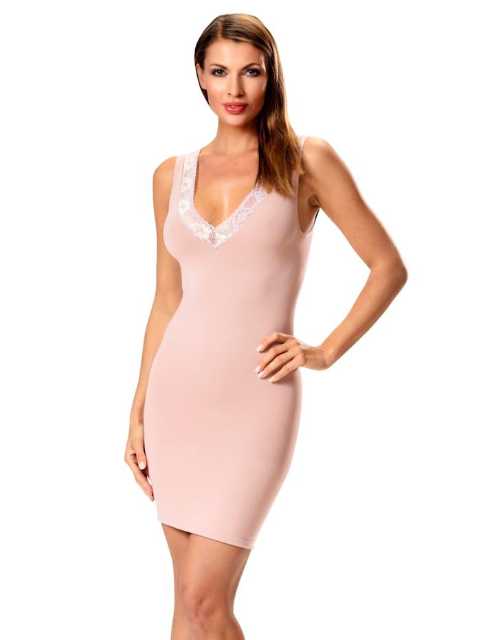 Shaping-Kleid mit zarter Spitze
