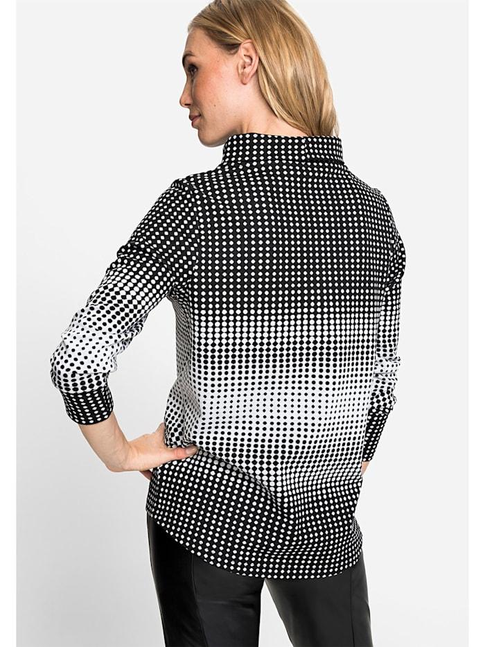 Sweatshirt im Punktdesign