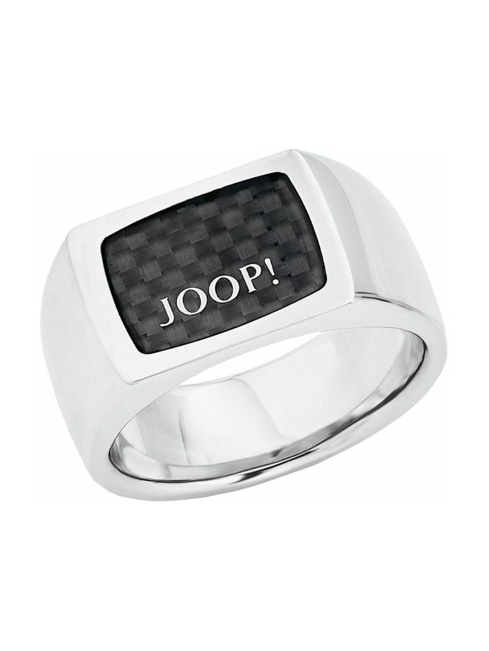 JOOP! Ring für Herren, Edelstahl, Schwarz