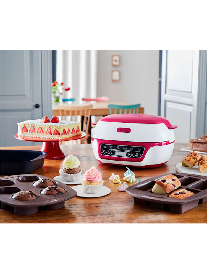 Tefal Mini-Backofen Cake Factory, lila/weiß