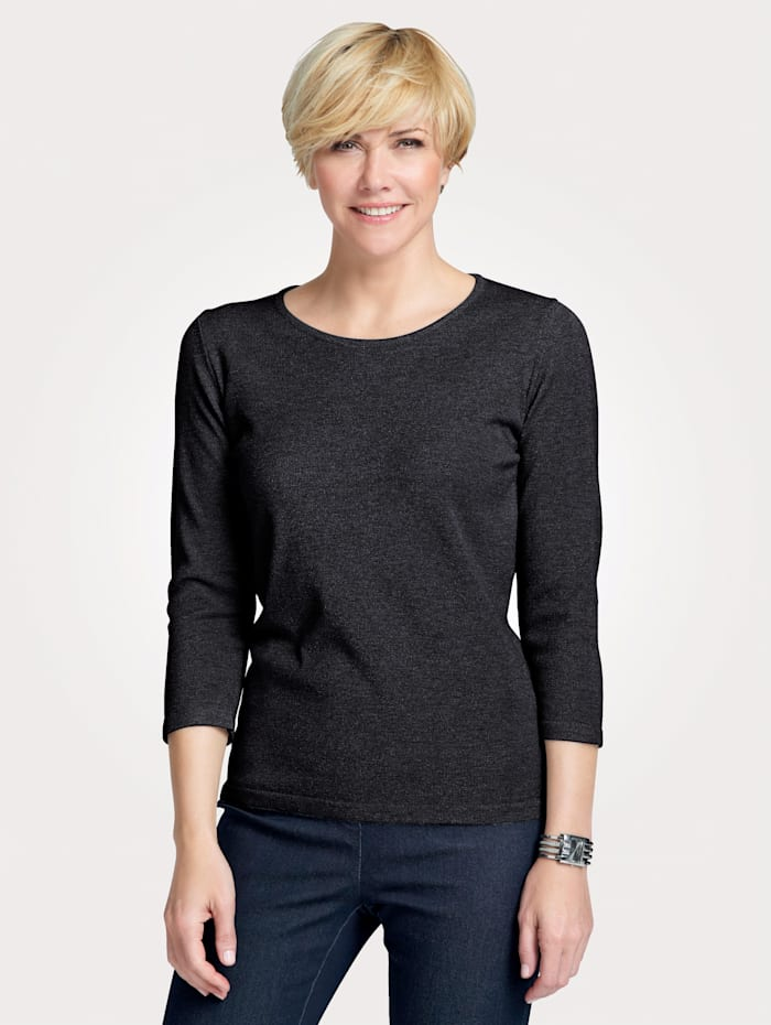 MONA Jumper made from a super soft fabric, Black