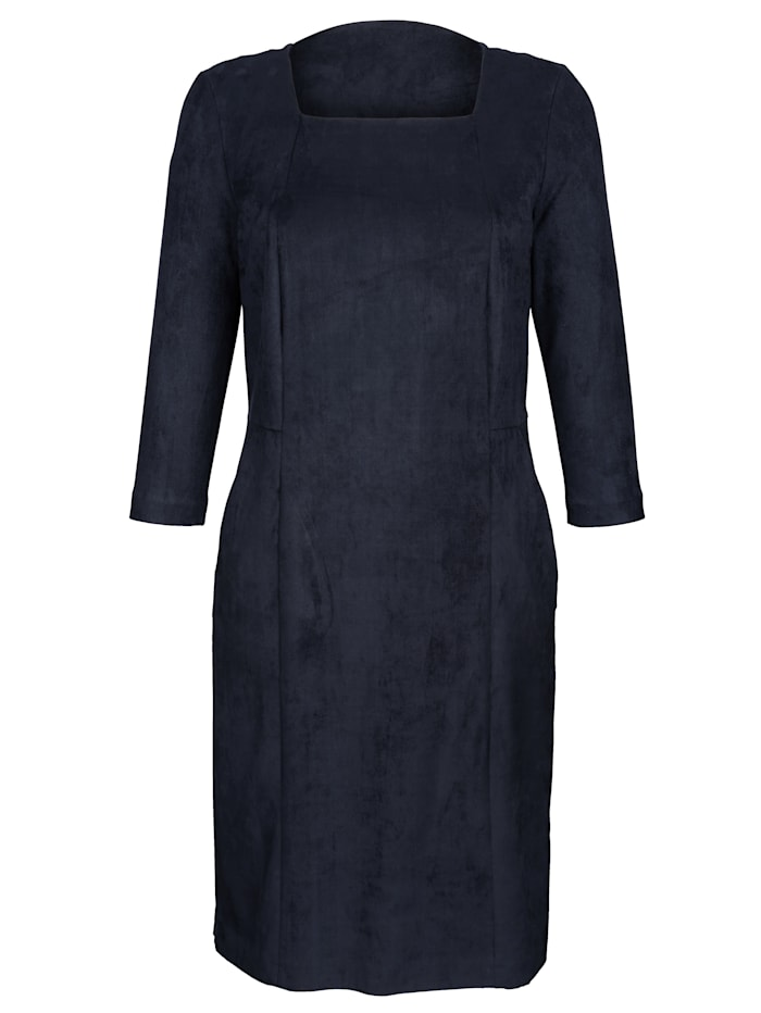 Kleid in Velours-Qualität