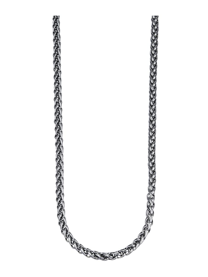 Magnetic Balance Gevlochten ketting, Zilverkleur