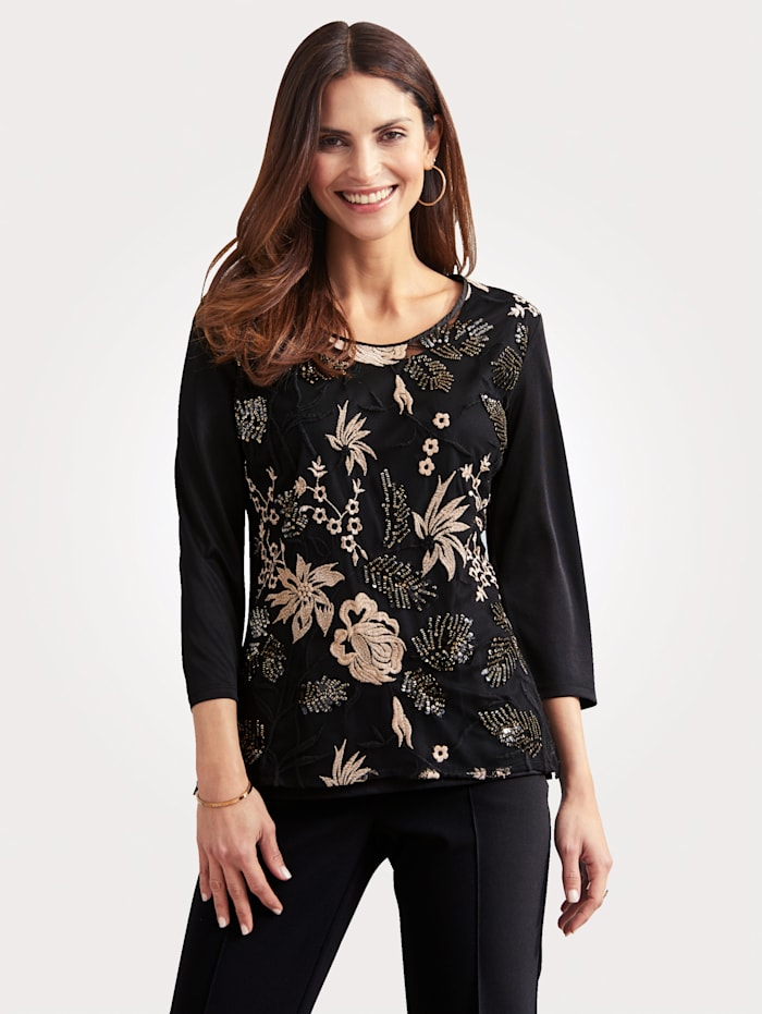 Top with shimmering sequins