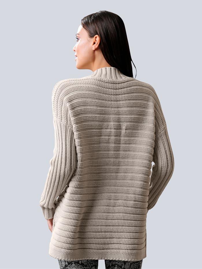 Pullover mit Glanzgarneffekten