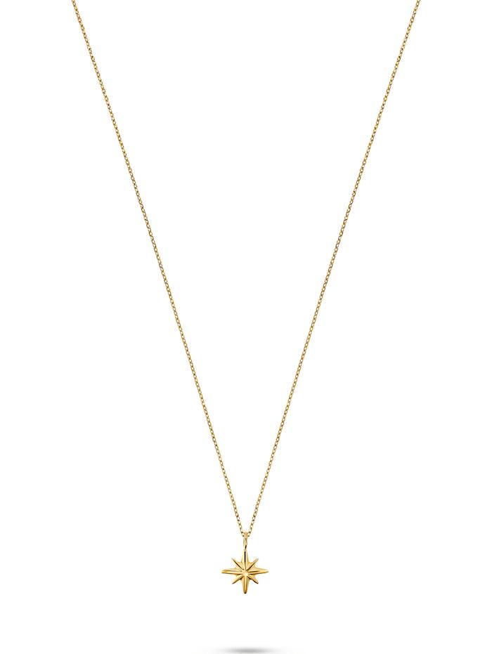 CHRIST GOLD CHRIST Gold Damen-Kette Kette Polarstern 375er Gelbgold, gelbgold
