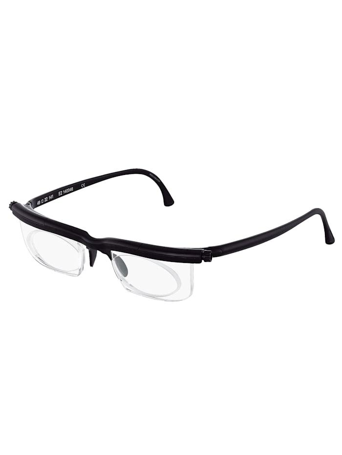 Korrektionsbrille für Nah-, Mittel- und Fernsicht, schwarz