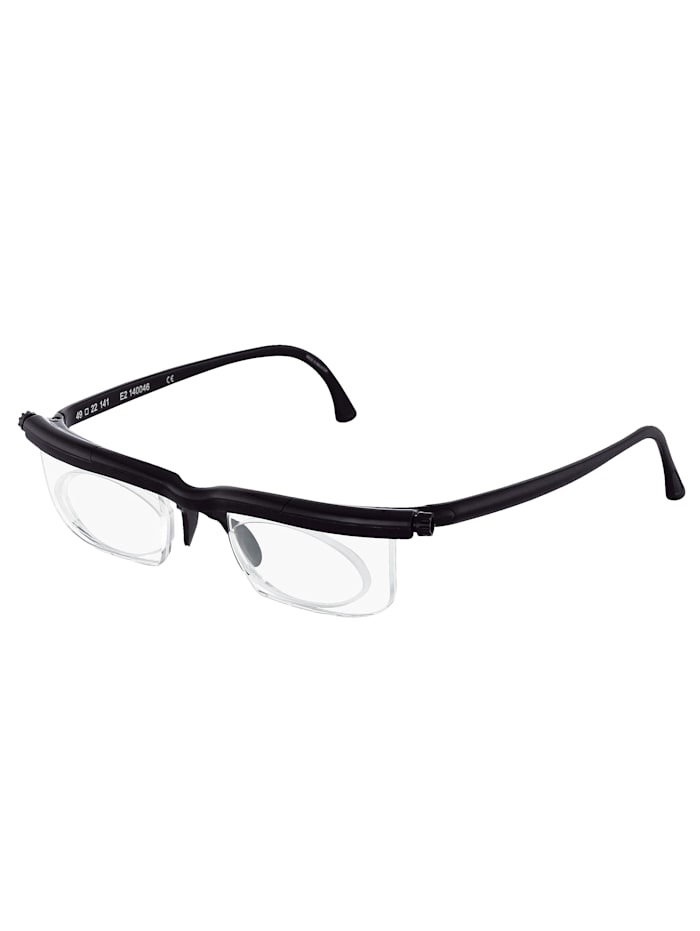 Korrekturglasögon, svart