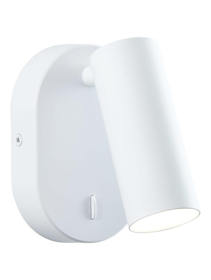 Brilliant Soeren LED Wandspot weiß matt, weiß matt