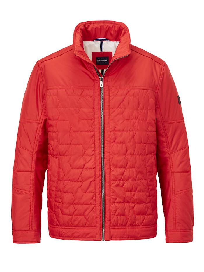 BABISTA Prešívaná bunda s moderným prešívaným vzorom, Červená