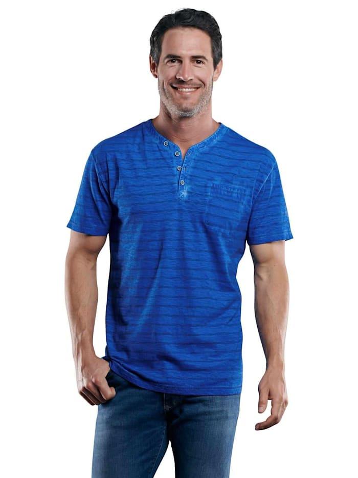 Engbers Henley T-Shirt, Wasserblau