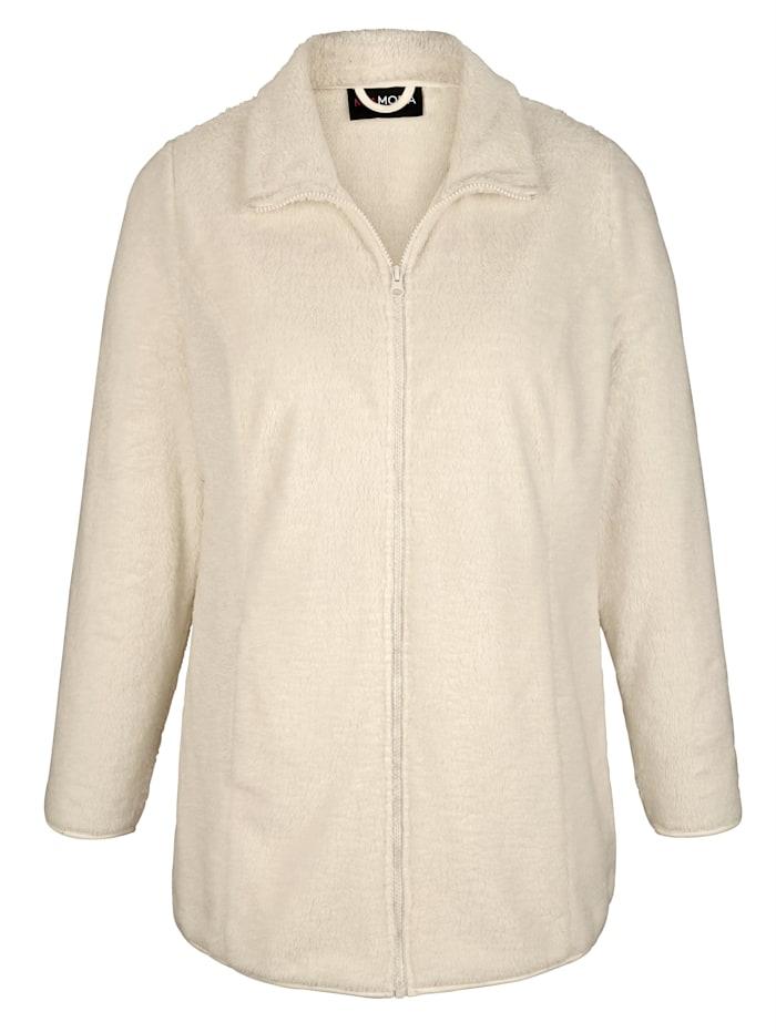 Jacke aus kuscheligem Teddy-Material