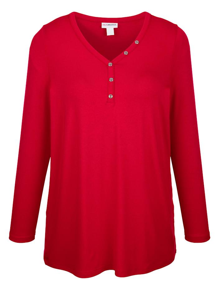 Shirt in vielseitig kombinierbarem Basic Stil
