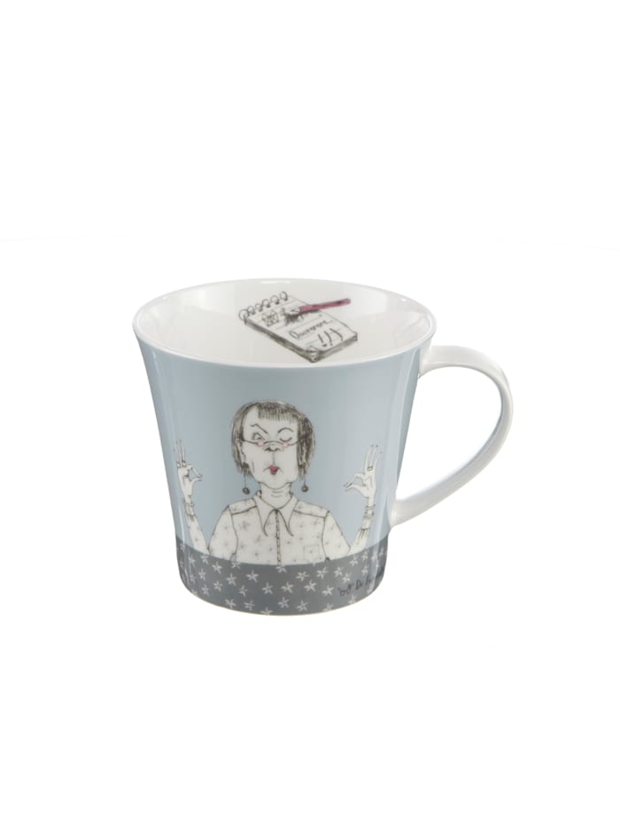 "Goebel Coffee-/Tea Mug Barbara Freundlieb - ""Immer mit der Ruhe"""