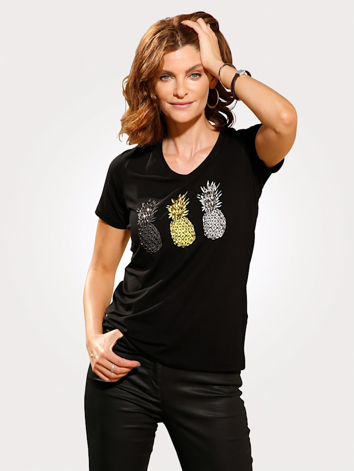 Shirt mit Ananas-Motiv
