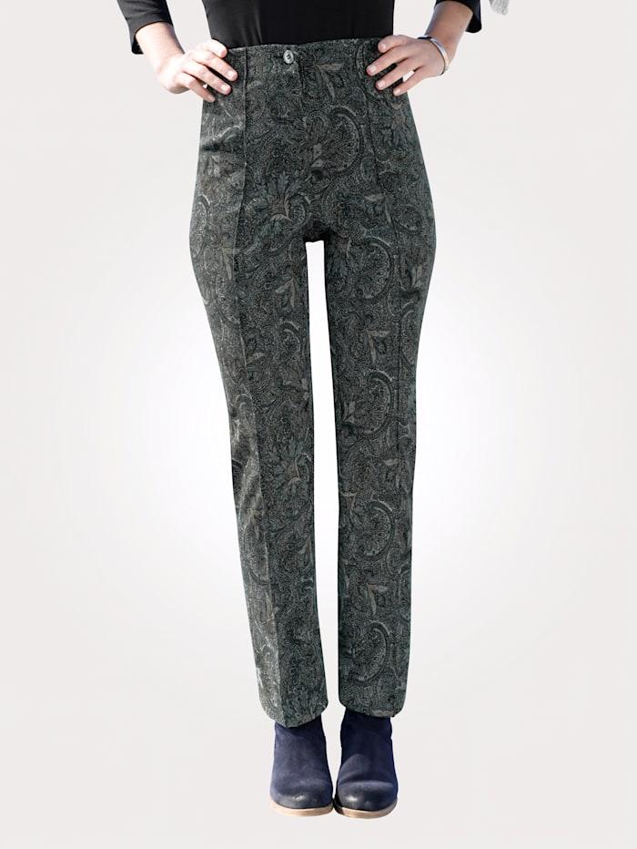 Pantalon à imprimé cachemire