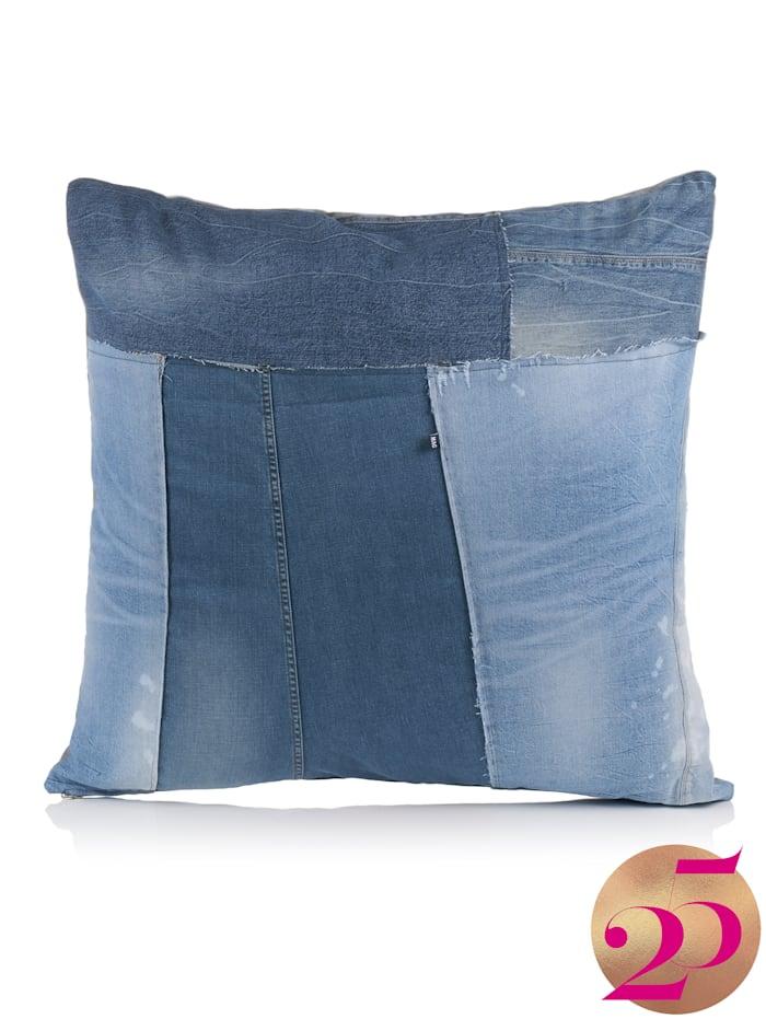 MAC Jeans-Kissenhülle, Jubiläumskollektion, Marineblau