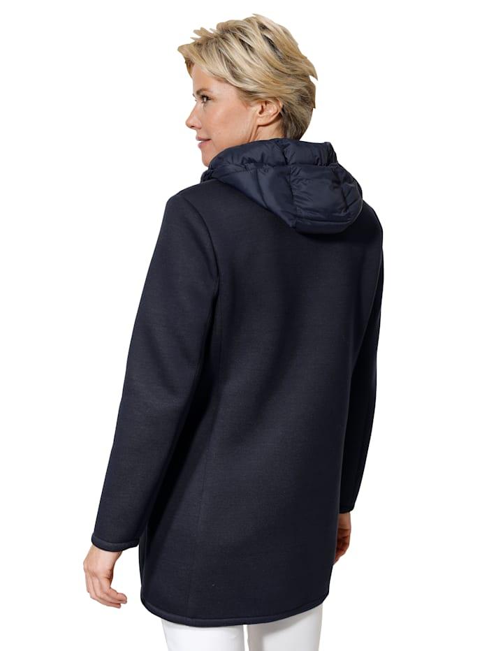 Jacke in Scuba-Qualität