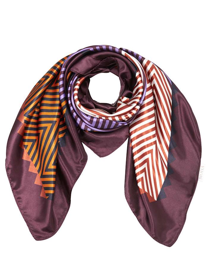 Foulard en satin, Multicolore