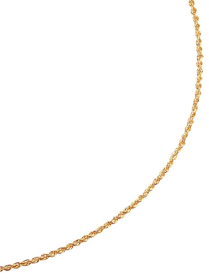 Dreifachankerkette in Gelbgold
