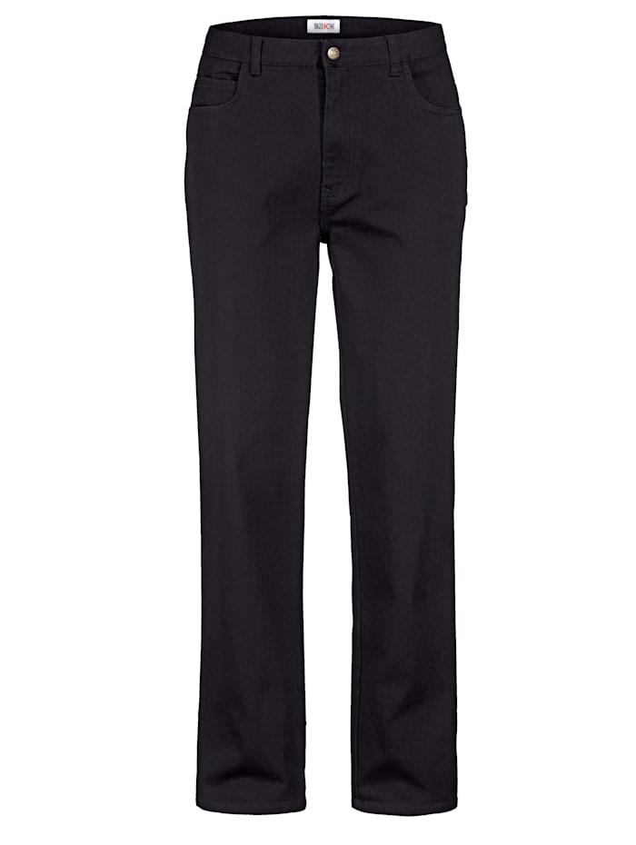 Roger Kent Jeans met elasthan, Zwart