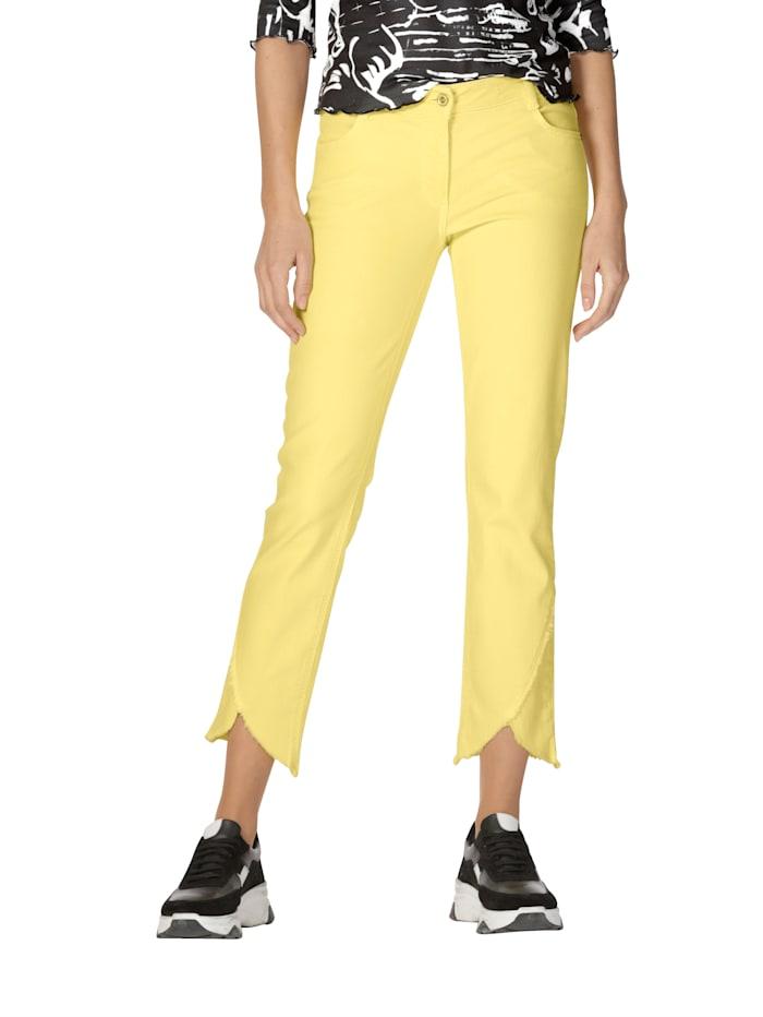 Betty Barclay Jeans met franjes, Geel