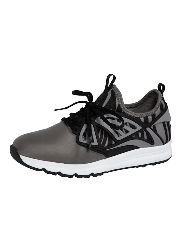 Liva Loop Sneaker in harmonischer Farbkombination, Grau