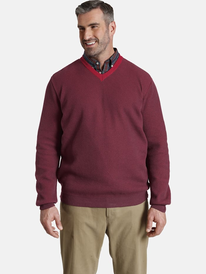 Charles Colby Charles Colby Pullover EARL SHANE, dunkelrot