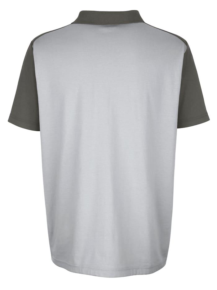 Poloshirt van strijkarm materiaal