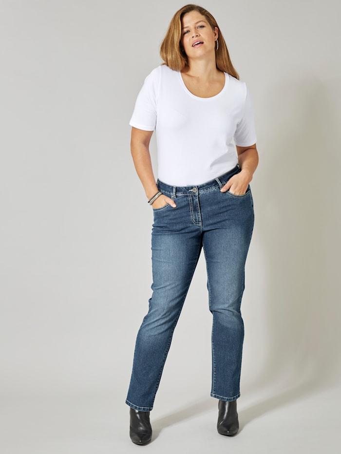 Dollywood Slim Fit Jeans Emma, Blau