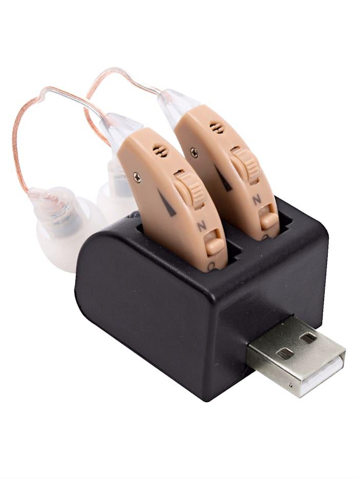 UBTC Amplificateur auditif rechargeable, Chair