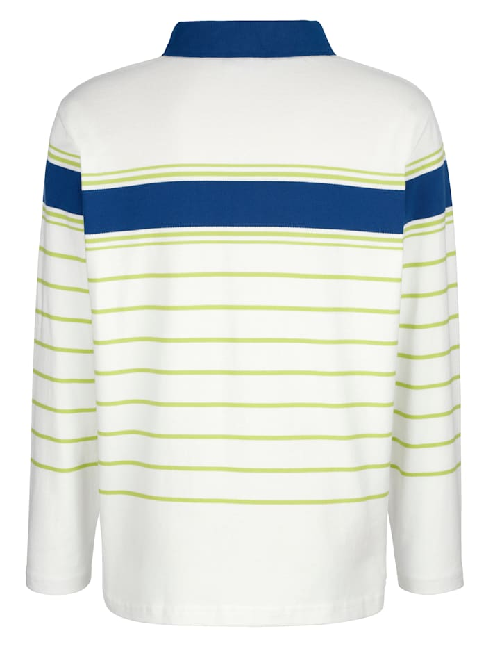 Sweatshirt mit Polokragen